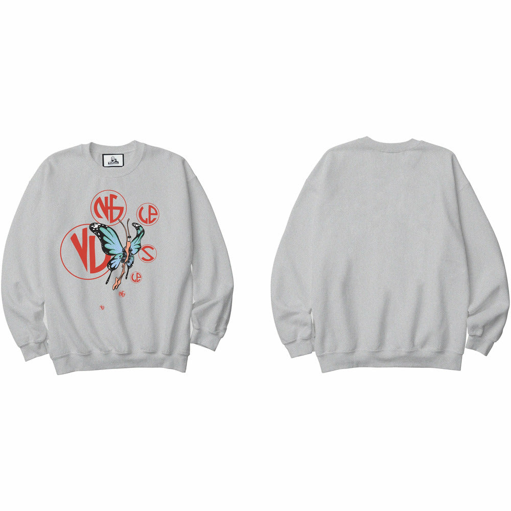 Butterfly Crew - Grey