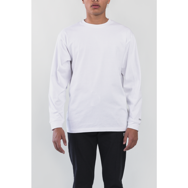 Basic Oversized Long Sleeve Tee