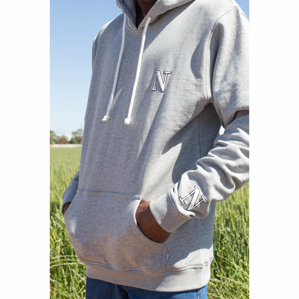 Capital Hoodie in Grey - nowa.