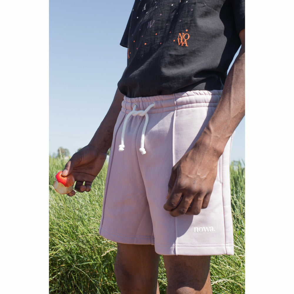 Sweatshorts in Elderberry - nowa.