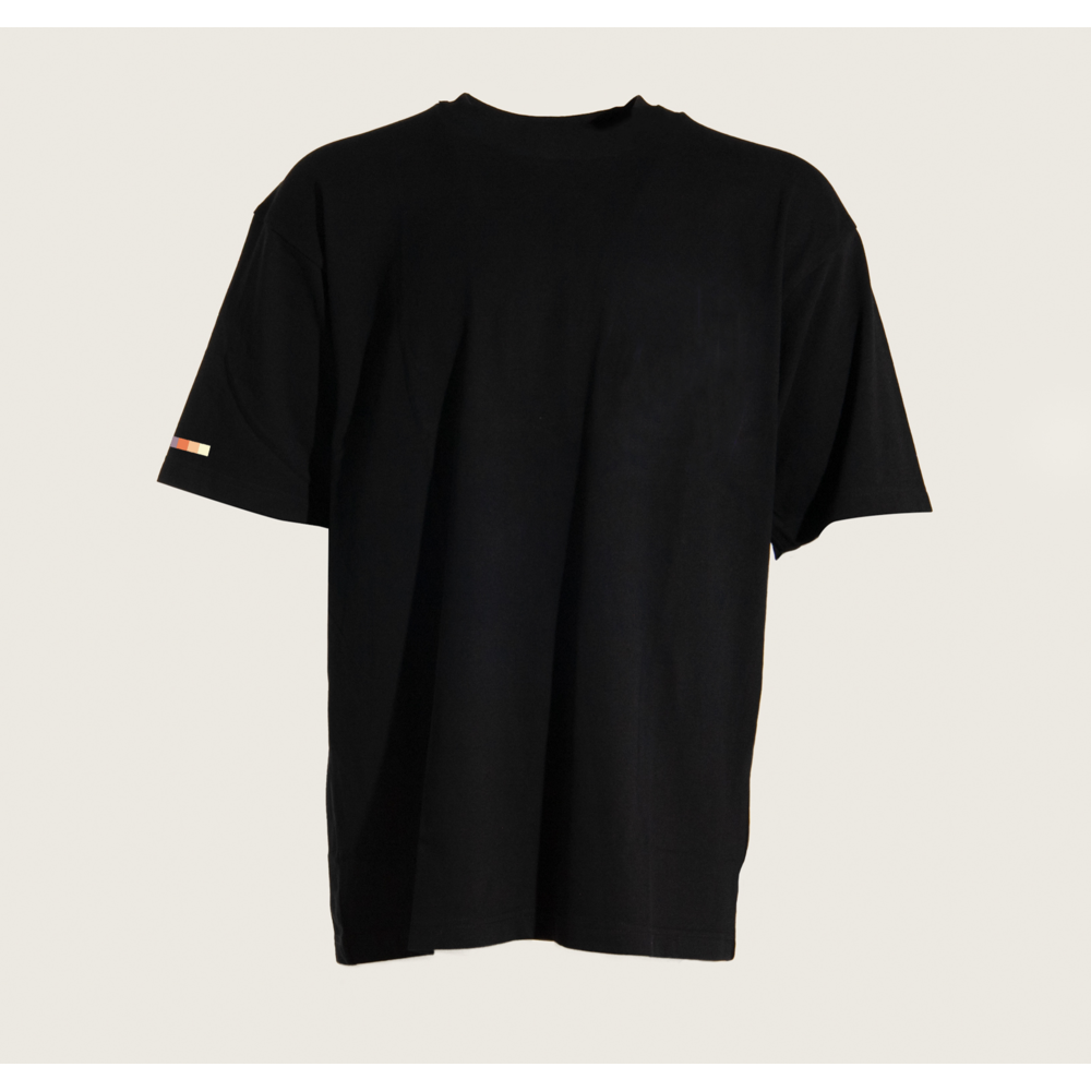 Gradient Oversized T-shirt BLACK
