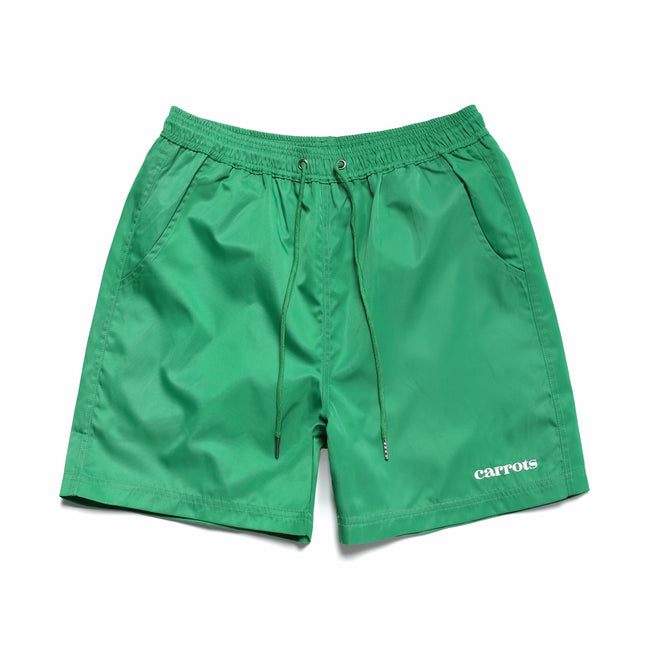 Carrots Nylon Shorts - Green - nowa.