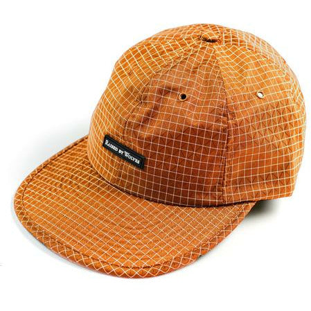 GRIDSTOP 6 PANEL CAP - BURNT ORANGE - nowa.