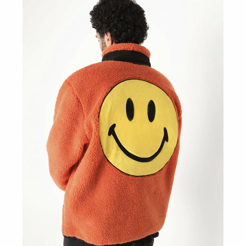 Smiley Sherpa Jacket