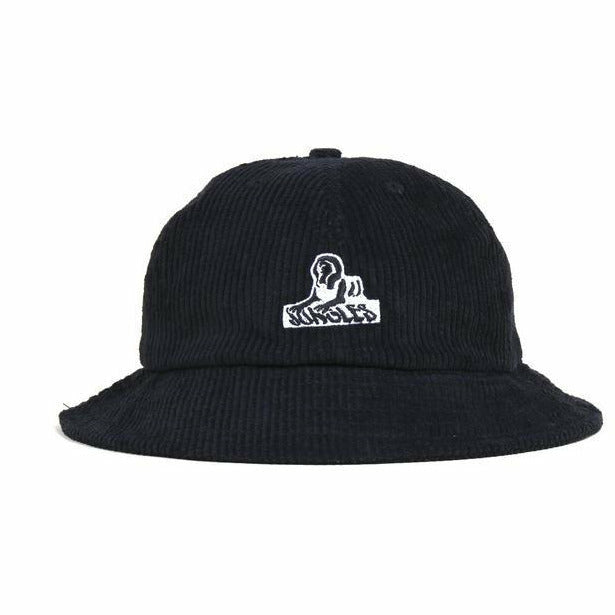 Sphinx Logo Bucket Hat - nowa the label