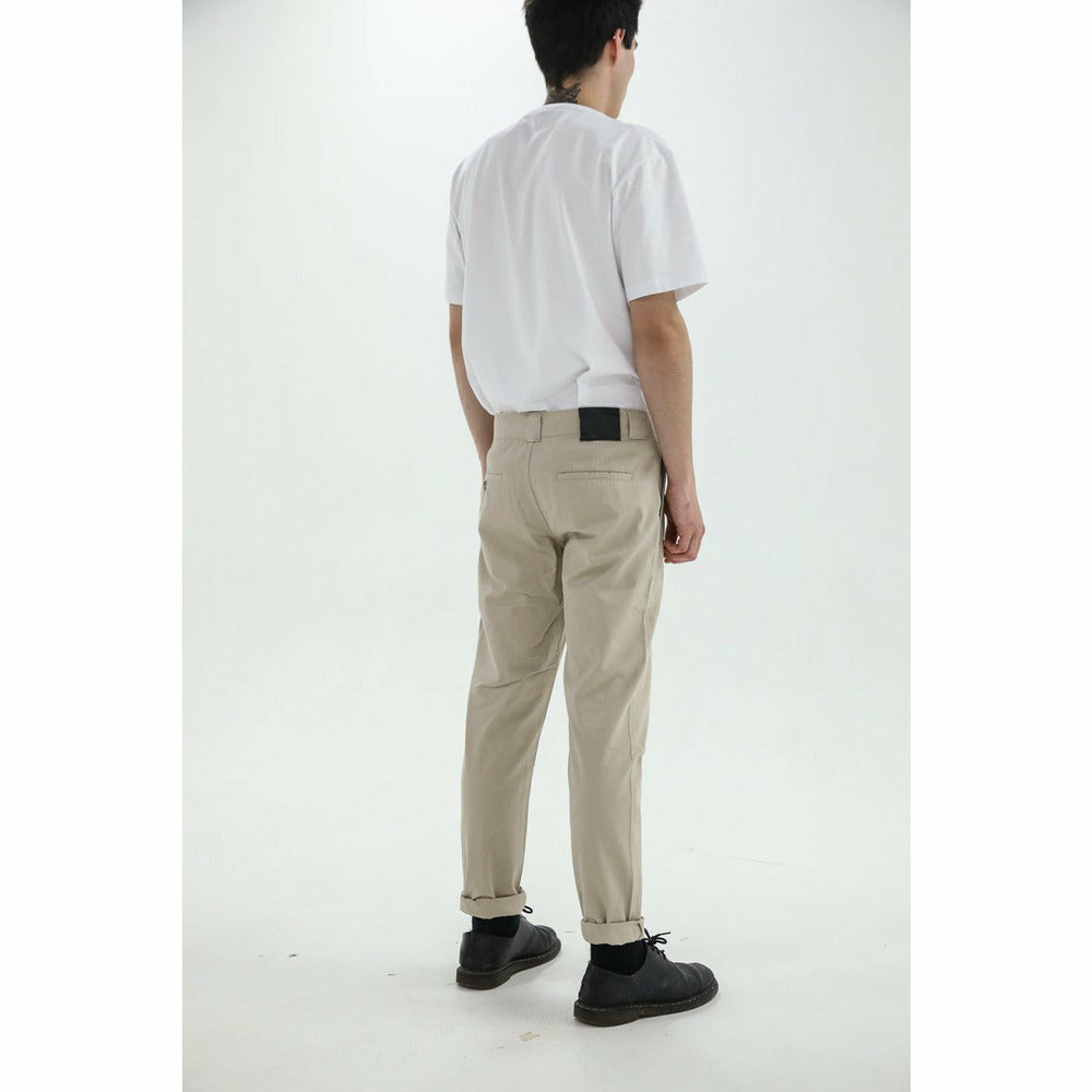 Yuri Chino Trouser - Cream - nowa the label