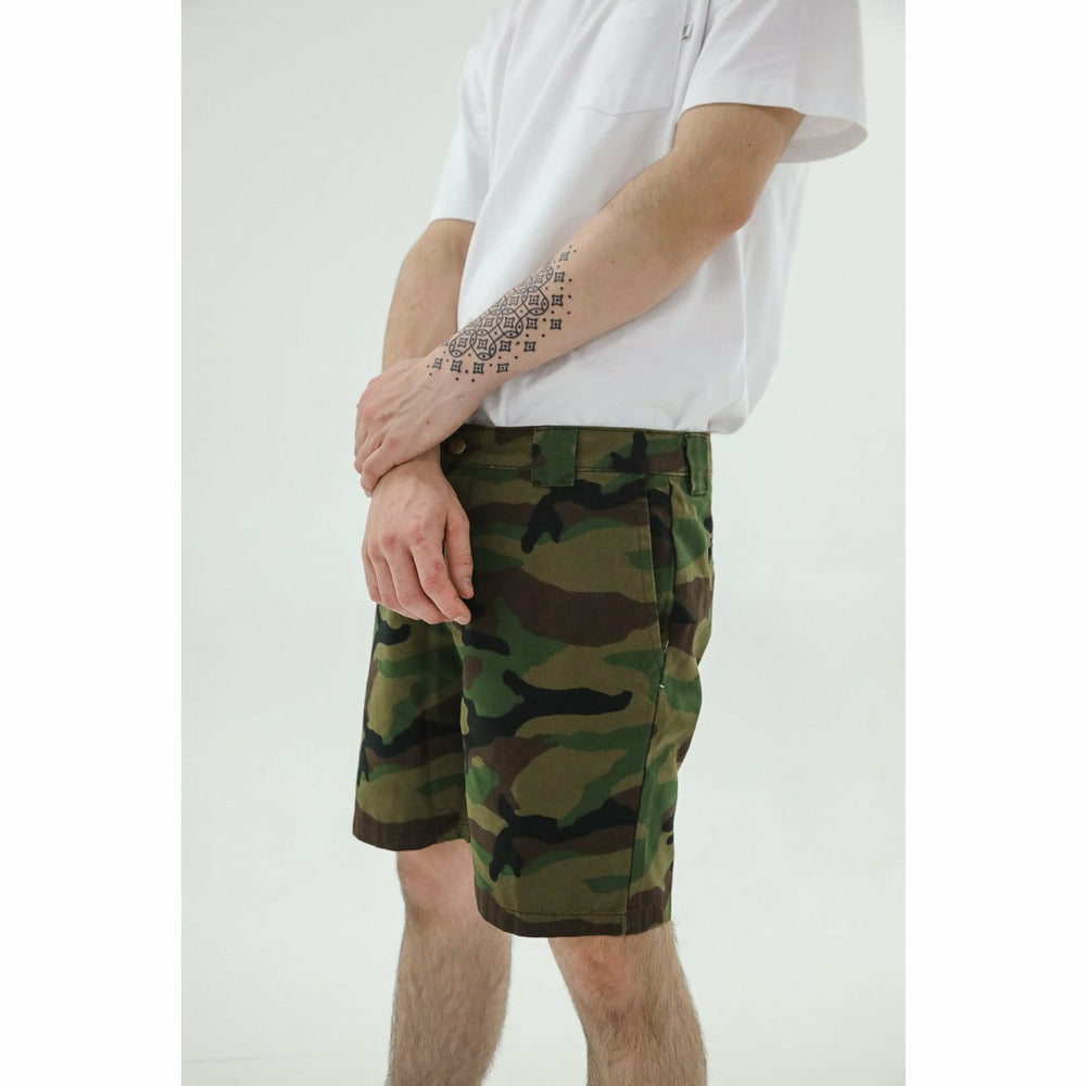 Yuri chino shorts - Camo - nowa the label
