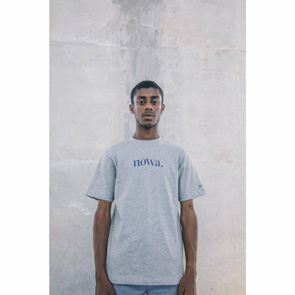 Staten t-shirt - Grey marl - nowa the label