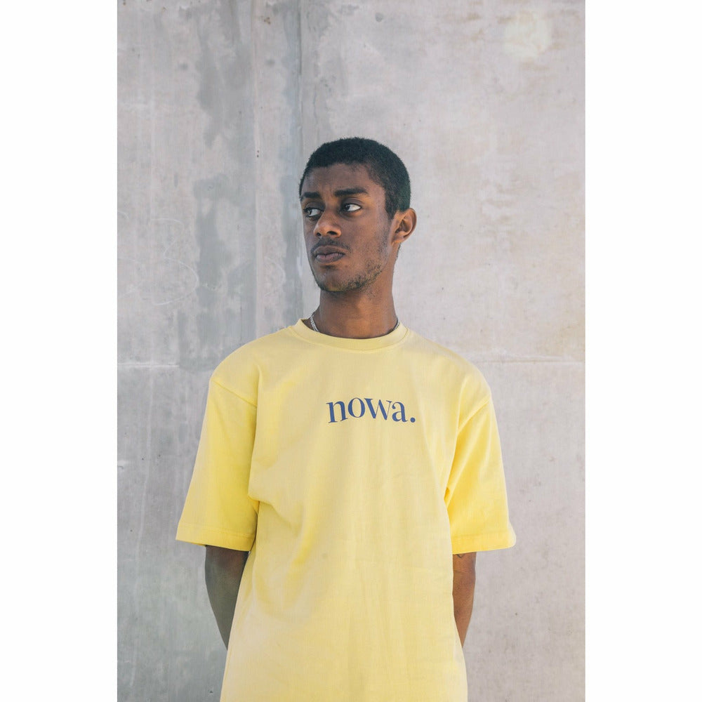 Staten t-shirt - Yellow - nowa the label