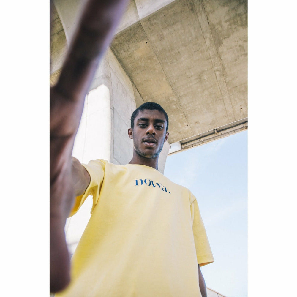 Staten t-shirt - Yellow