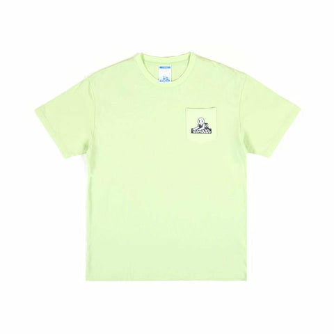 Sphinx Pocket Logo Tee - Lime