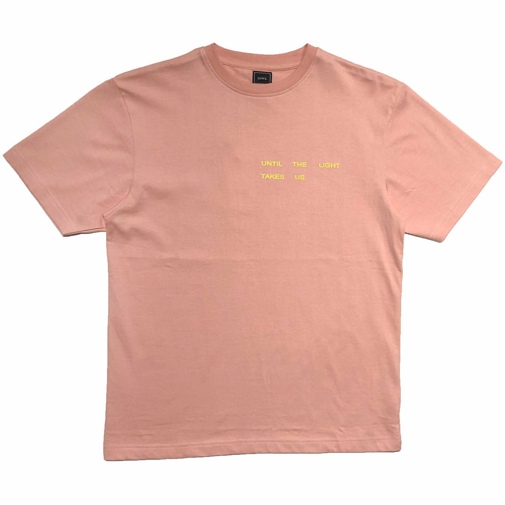 Takes us t-shirt - Peach - nowa the label