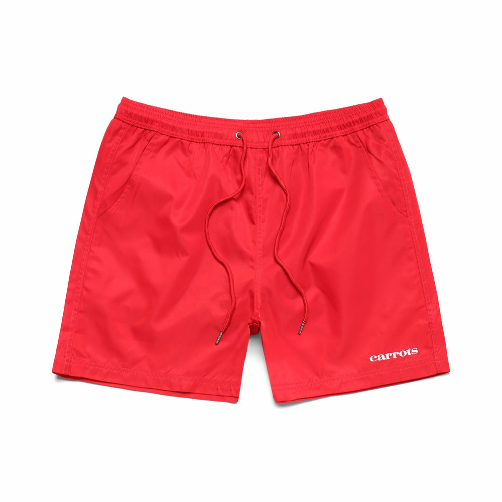 Carrots Nylon Shorts - Red - nowa.