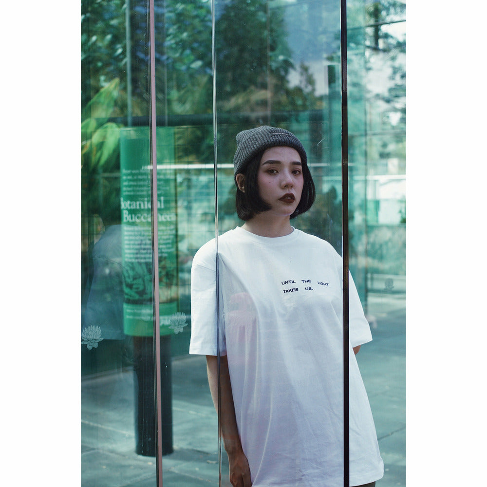 Takes us t-shirt - White - nowa the label