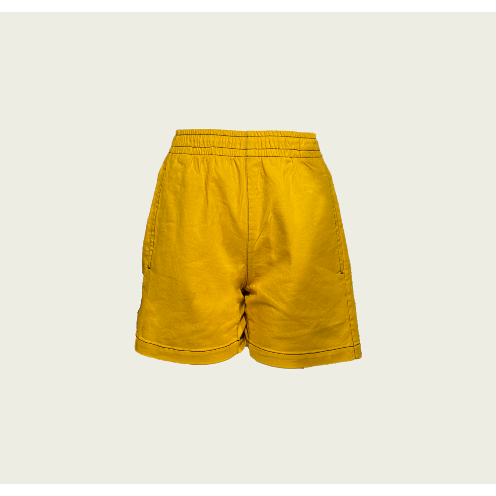 Twill shorts with Contrast Stitching - Honeycomb
