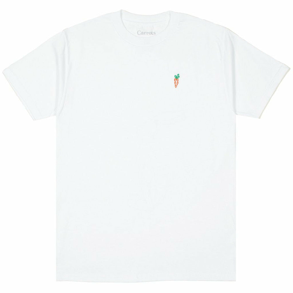 Carrots X Lonney Tunes Wordmark Drop Tee - White