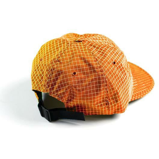 GRIDSTOP 6 PANEL CAP - BURNT ORANGE
