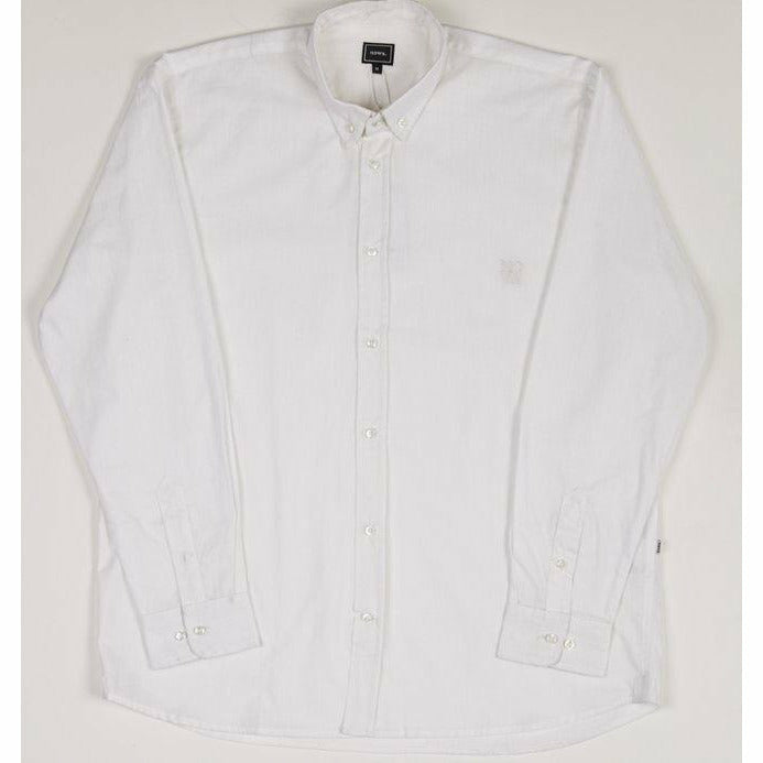 Holiday Linen Shirt - White