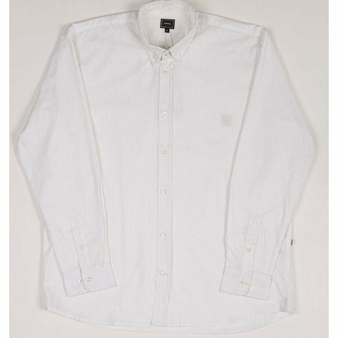 Holiday Linen Over Shirt - White