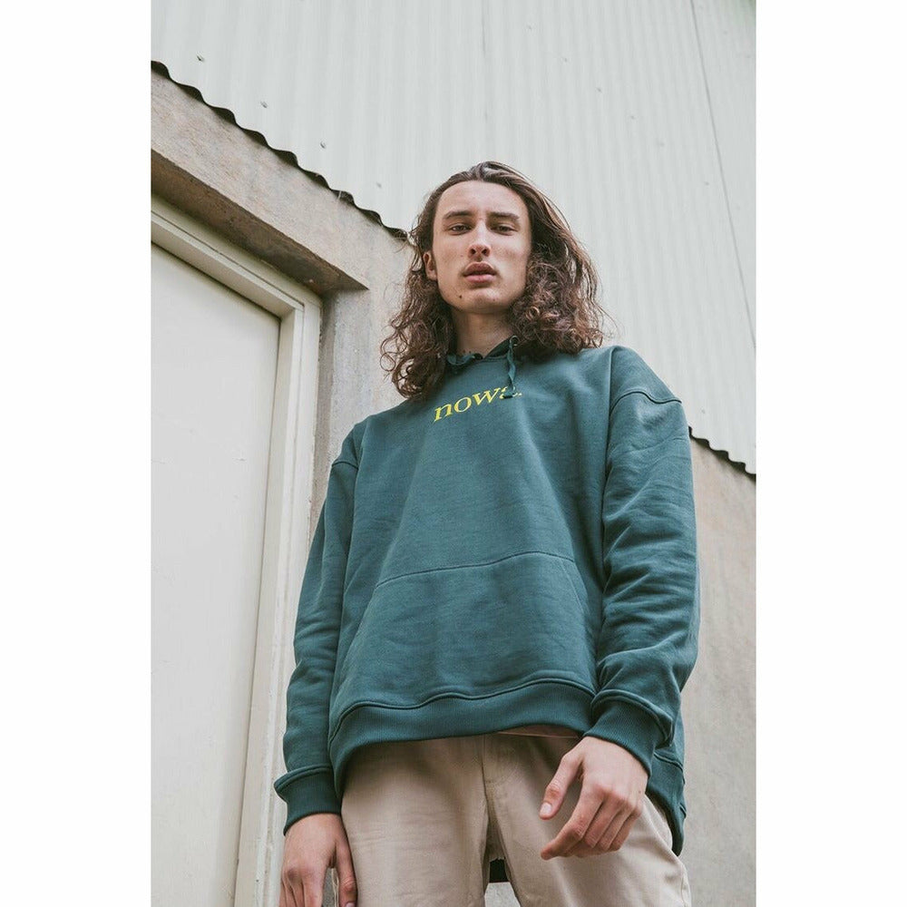 Staten hooded sweatshirt - Forrest green - nowa the label