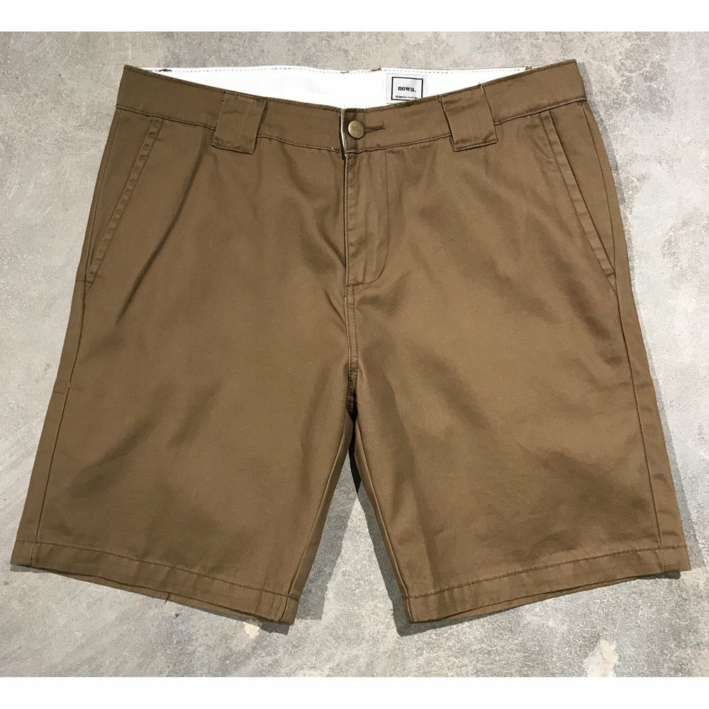 Yuri chino short - Sap Brown - nowa.
