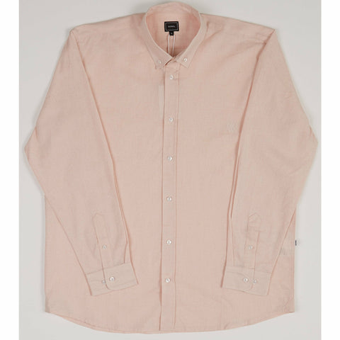Holiday Linen Over Shirt - Pink
