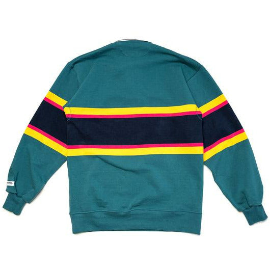 RBW / BARBARIAN RUGBY SWEATER - TEAL