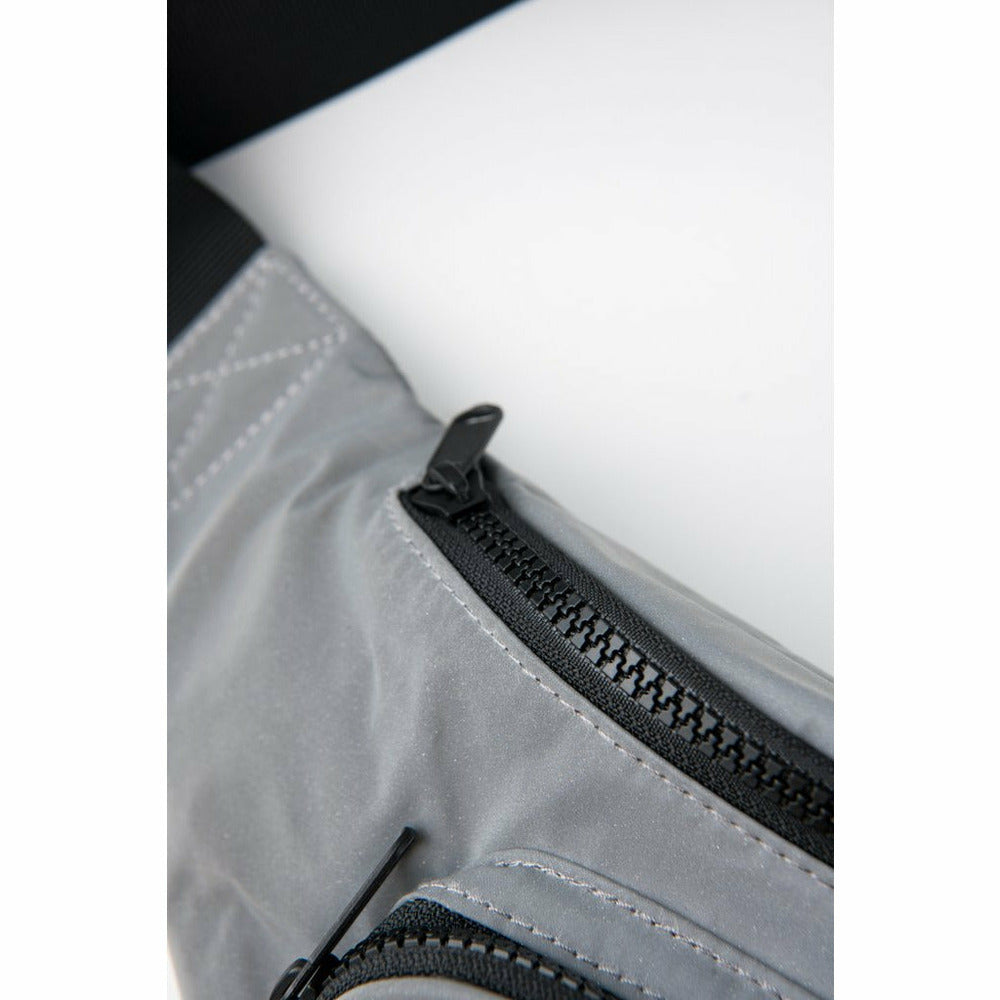 Reflective 3M Silver Bum Bag - nowa the label