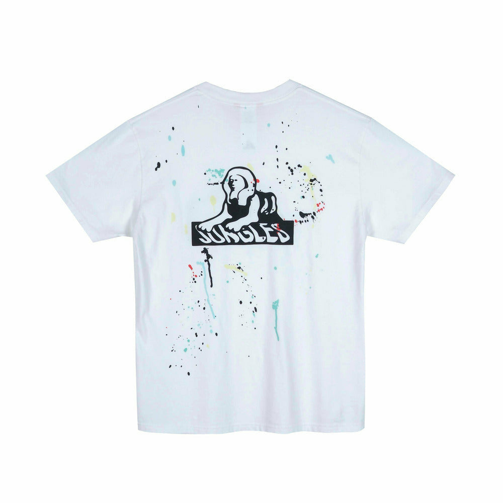 Sphinx Logo Paint Splatter Pocket Tee