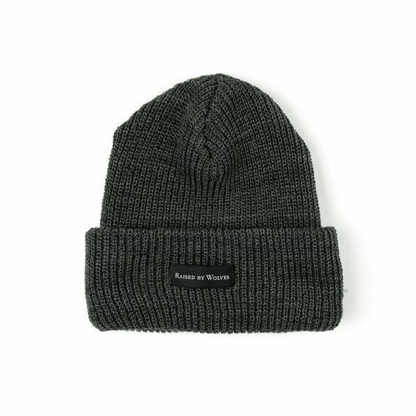 Waffle Knit Watch Cap - Charcoal - nowa the label