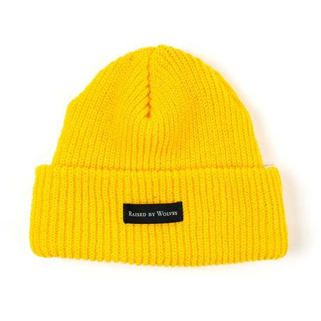 Waffle Knit Watch Cap - Mustard - nowa the label