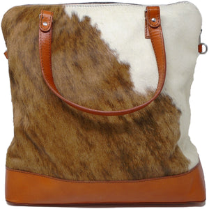 Cowhide & Leather Travel Bag