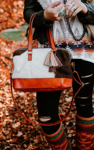 Cowhide Shoulder Bag (Clearance)