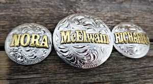 Custom Handcrafted Conchos