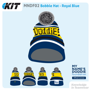 MNDF02 Bobble Hat - Royal Blue