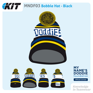 MNDF03 Bobble Hat - Black