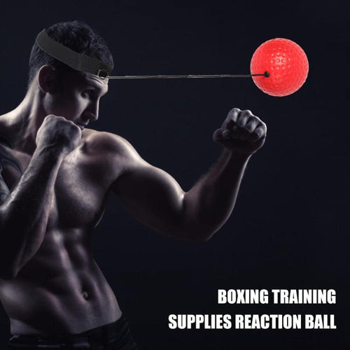 Head Mounted Boxing Reflex  Ball
