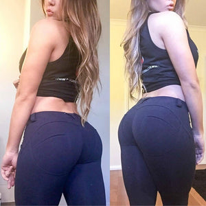 Women Low Waist Fitness Leggings - www.pllaka.eu