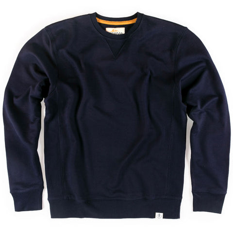 navy crew neck sweatshirt in tall and extra tall mens sizes