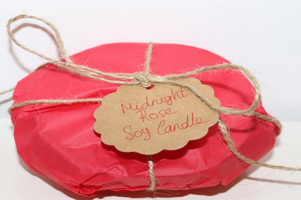 Midnight Rose Soy Candle