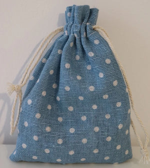 Baby blue Lavender Bag