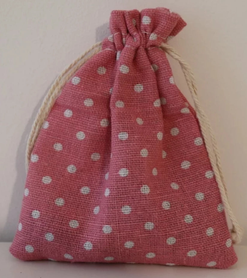 Bubble gum pink Lavender Bag
