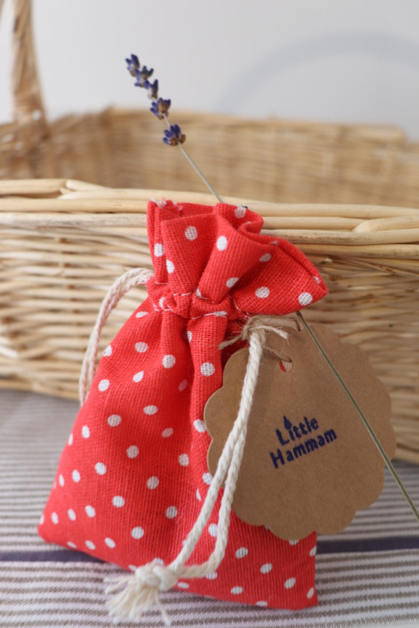 Red Lavender Bag