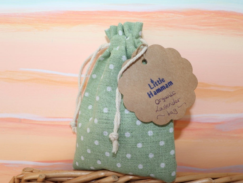 Mint green Lavender Bag