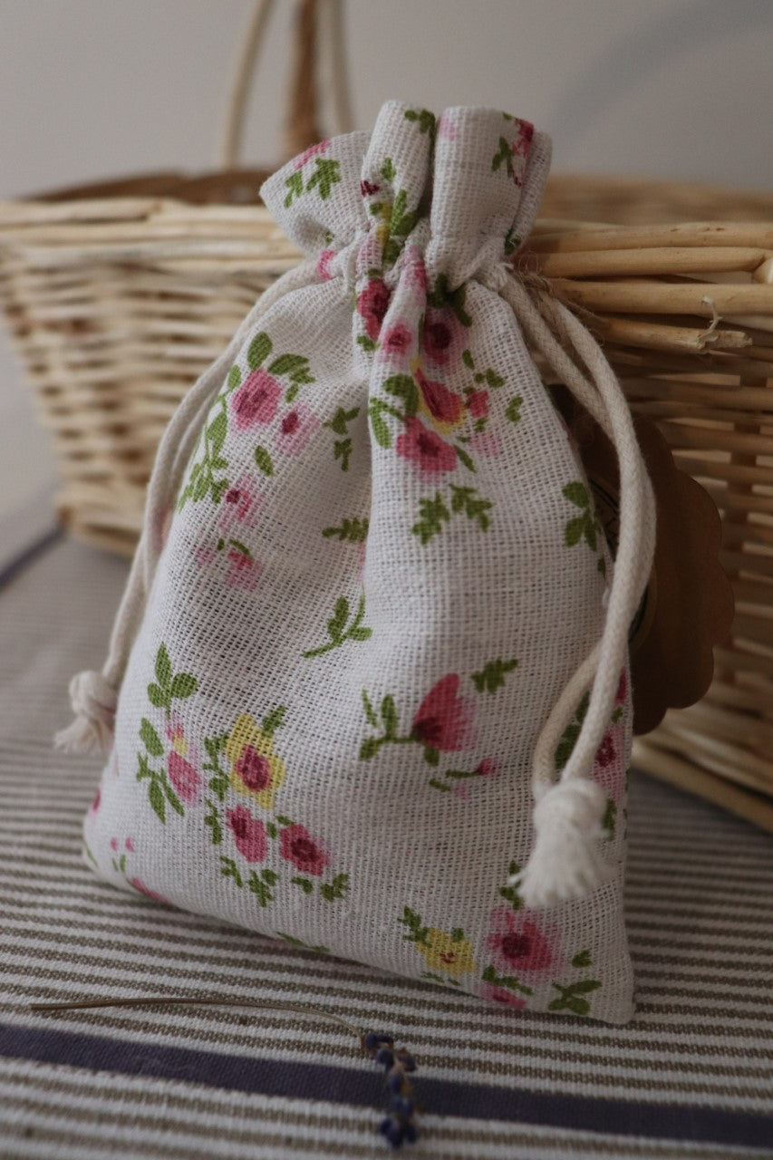 Little flowers Lavender Bag