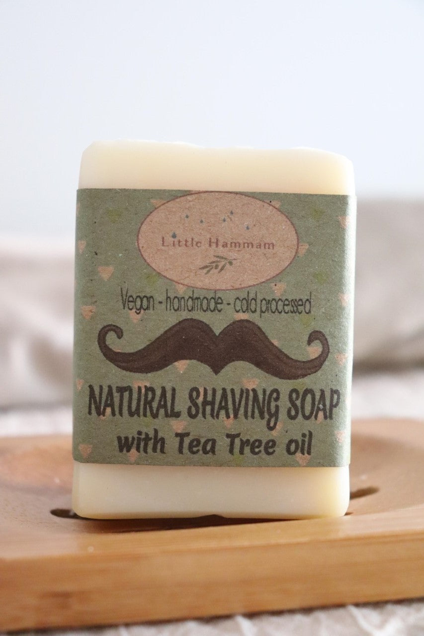Shaving Soap with Tea Tree oil