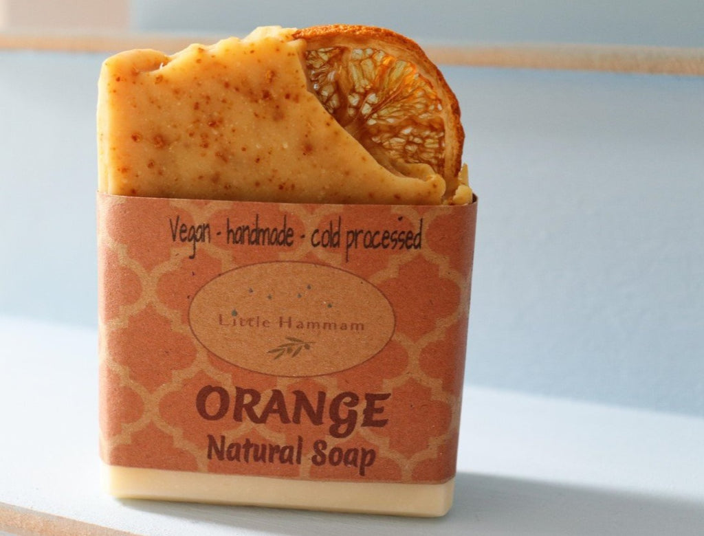 Orange Natural Soap