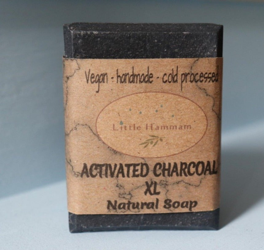 Activated Charcoal Soap XL