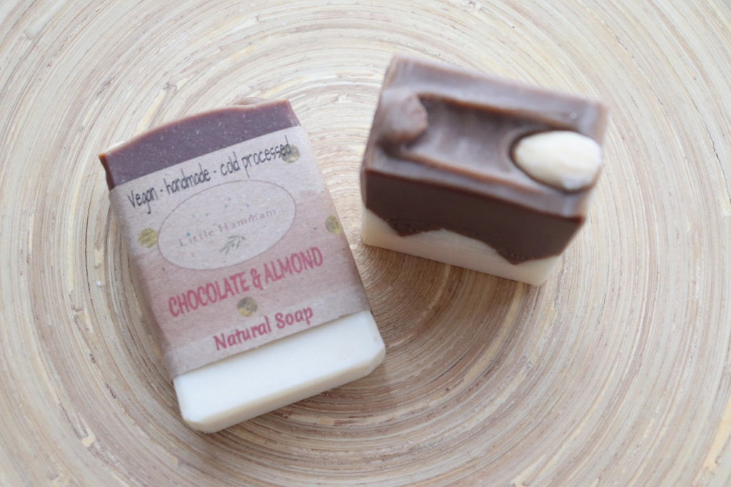 Chocolate & Almond Natural Soap
