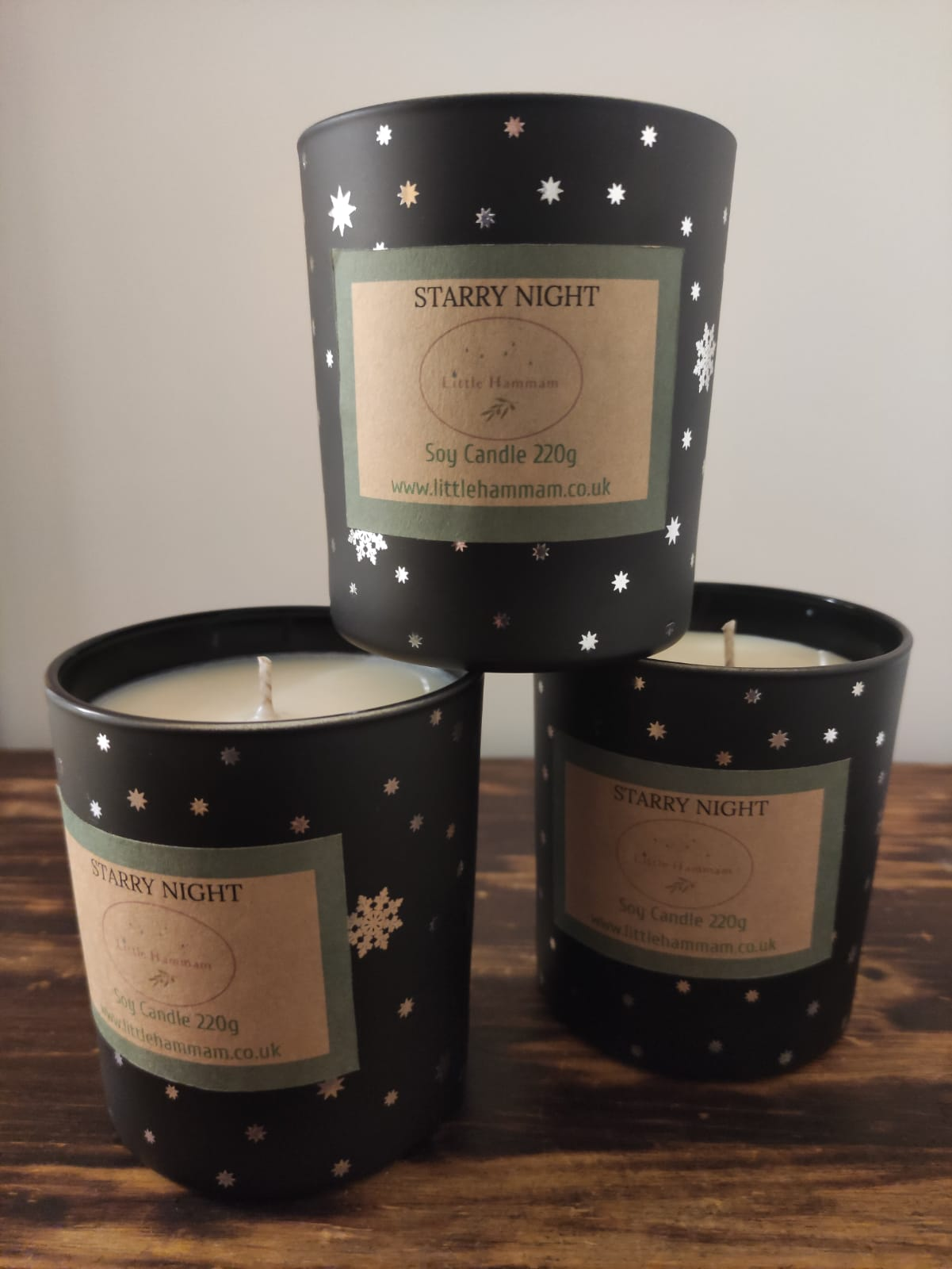 Winter Limited Edition ~ Starry Night Candle